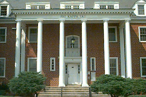 Beta Omicron's Fraternity House